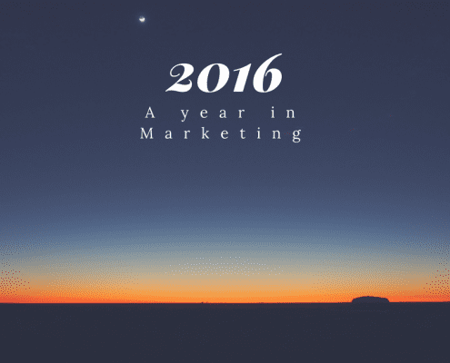 As the sun sets on 2016, we take a light hearted look at the main Marketing events of the year.