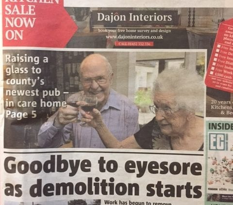 Gloucestershire Echo and Citizen to soon become a weekly title