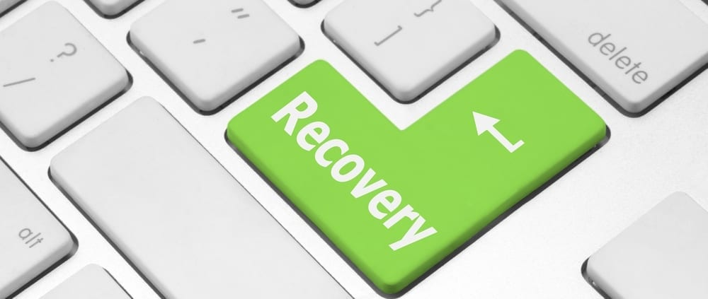 Recovery button